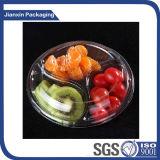 Freie Plastikwegwerffrucht-verpackentellersegment