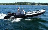 Aqualand 19feet 5.8m steife aufblasbare Boots-/Rippen-Boots-Form für Verkauf