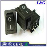 SGS Spst 2pin 16A 힘 소형 마이크로 단추 로커 스위치 (SS11)