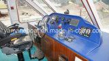 Barco de pasajero de alta velocidad del catamarán de la fibra de vidrio