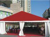 tenda rossa impermeabile del partito di evento della tenda foranea di cerimonia nuziale della tela di canapa di 10X30m