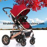De nieuwe ModelWandelwagen van de Baby met Slot van Veiligheid 2 5 de Uitrusting van het Punt