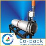Machine de poinçonnage de perçage à perçage de tuyaux portatifs