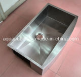 Роскошная раковина кухни нержавеющей стали шара Undermount одиночная (ACS3320A1)