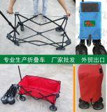 Faltender Lastwagen-Spaziergänger, den hoher Landschaftswagen sitzen kann, kann liegen heller faltbarer Baby-Wagen