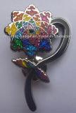 Distintivo duro dello smalto del fiore di scintillio (hertz 1001 B042)