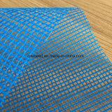 Tessuto di maglia rivestito del poliestere del PVC per i sacchetti o recintare