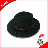 Ribbon Lace chapéu Panamá Hat Fedora Mulher Hat