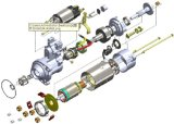Drive diretto Starter per Changchai Muti Cylinder Diesel Engine CZ480q