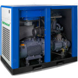 10 Compressor van de Lucht van de Schroef van de Snelheid van de Aandrijving van de staaf de Directe Veranderlijke Drogere