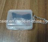 23dB de geluiddichte Oordopjes van de Hoofdtelefoon van de Buis van de Lucht met Kleine Plastic Doos