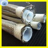 Schlauch des PTFE Schlauch-R14 mit Edelstahl-Draht-umsponnenem Teflonschlauch