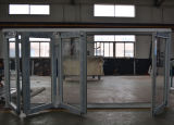 Porte de pliage thermique de ceintures de l'aluminium 4 d'interruption de qualité K07004