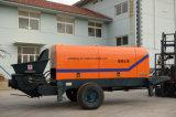 Le camion célèbre d'engine de moteur de la Chine a monté la pompe concrète stationnaire utilisée à vendre