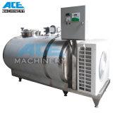 Tanque de enfriamiento de leche de acero inoxidable sanitario (ACE-ZNLG-3H)