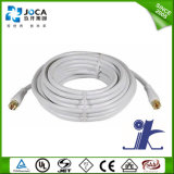 Câble coaxial câblé câblé coaxial de 75 Ohm