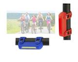 Комплект света Bike УДАРА 3W СИД USB батареи Li-иона тела кремния перезаряжаемые