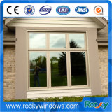 상인방을%s 가진 이중 유리로 끼워진 알루미늄 여닫이 창 Windows