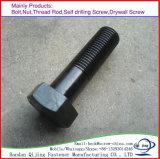 Kohlenstoffstahl-Hex Kopf-Schraube verzinktes DIN933/931 M6-M36