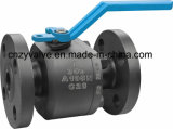 2 parti di Class 300lb Forged Steel A105/F304/F316/F321 Ball Valve Handlever