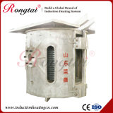 Оборудование плавильни алюминиевой раковины частоты средства 1 тонны электрическое