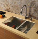 ステンレス鋼のハンドメイドの流し、エプロン流し、ステンレス鋼の流し、台所の流し、流し