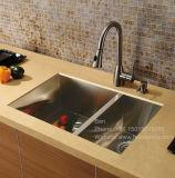 R0 en acier inoxydable Handmade lavabo