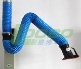 Bras flexible de capot d'extraction de vapeur de Qingdao Loobo, capot de soudure d'extracteur de vapeur de classe, bras de soudure d'aspiration de fumée d'atelier