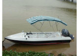 Shallow Water (190)를 위한 Aqualand 19feet 6m Fiberglass Passenger Boat 또는 Water Taxi Ferry Boat