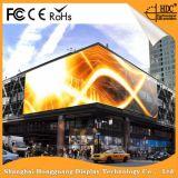 P8.9 al aire libre que hace publicidad de la tarjeta de la muestra del LED para la etapa