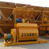 Máquina de hormigón de alta calidad JS500 Obligatorio hormigonera