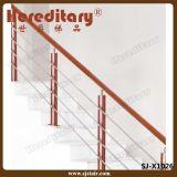 Acciaio inossidabile della balaustra del cavo dell'inferriata del cavo dell'acciaio inossidabile (SJ-X1021)
