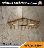 Accessoires de salle de bain Shampooing miroir Panier d'acier inoxydable