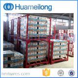 Depósito Pesado Rack de empilhamento de paletes metálicos de armazenamento