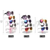 Cremalheira de indicador acrílica dos multi óculos de sol Vela-Shaped creativos da camada