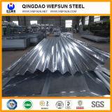 strato ondulato d'acciaio galvanizzato PPGI di spessore di 0.14~1.0mm