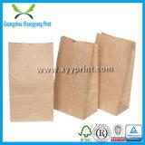 Tamanho personalizado Brown Kraft saco de papel para a Alimentação