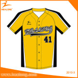 Healong Imprimé à l'impression Imported Ink Fibre Optical Baseball Uniform