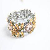 De nieuwe Reeks van de Juwelen van de Manier van de Halsband van de Armband van de Oorring van het Kristal van de Hars van het Ontwerp