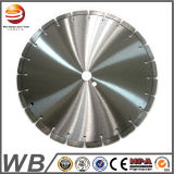 Segmento de turbo de la hoja de sierra de diamante de soldadura por láser para el hormigón /granito