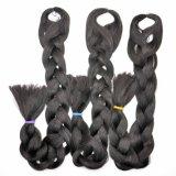 Estensioni sintetiche 2018 dei capelli Yaki della treccia dei capelli 100% dell'intrecciatura di Kanekalon del commercio all'ingrosso enorme dei capelli Lbh 033