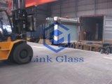 Étagère en verre / forme L étagère en acier / une forme étagère en acier / verre Tranfer étagère avec acier