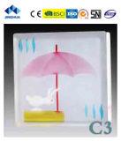 Высокое качество Jinghua художественных C-6 Окраска стекла блок/кирпича