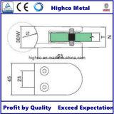 Inferriate di vetro rotonda centrale dell'acciaio inossidabile del morsetto di D 10.76-12.76) (