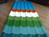 PPGI Farben-überzogenes gewölbtes Stahldach-Blatt
