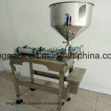 Máquina de rellenar líquida semi automática para la crema/el petróleo/el ungüento/la bebida