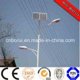 Novo design de LED de alta qualidade Personalizada Rua Solar Luz com pole 5-12m fabrica o preço de saída