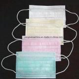Chirurgische und medizinische nichtgewebte Earloop Wegwerfgesichtsmaske, die Maschine herstellt