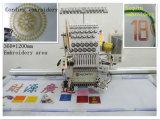 حوسب أنبوبيّة تطريز آلة لأنّ غطاء [ت-شيرت] علامة تجاريّة مسطّحة صناعة تطريز