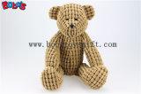 """10.6 """" Brown Stufffed ours en peluche avec déplacement de bras et jambes Bos1103"""